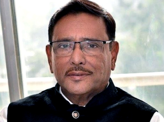 Quader returns home today: Hanif