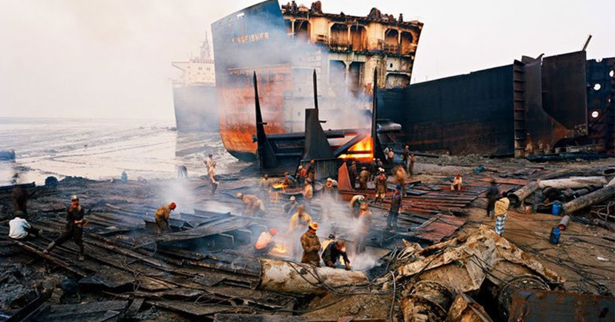 Ship-breaking yard worker burnt to death in Chattogram