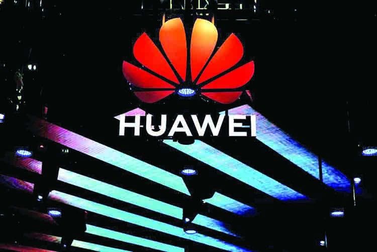 Trump to sign order for US telecoms ban on Huawei
