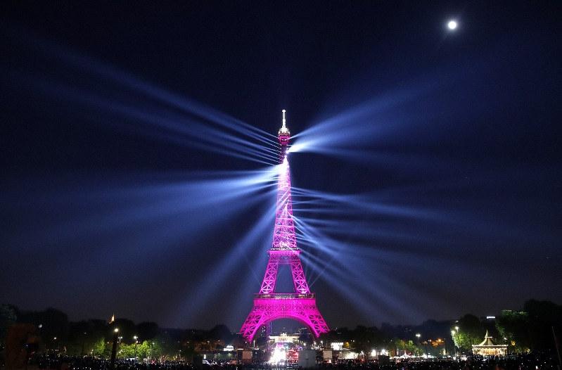 Happy 130th birthday, Eiffel Tower: Laser show for Iron Lady