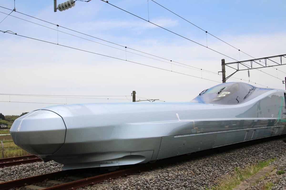 Japan tests next-generation Shinkansen bullet train