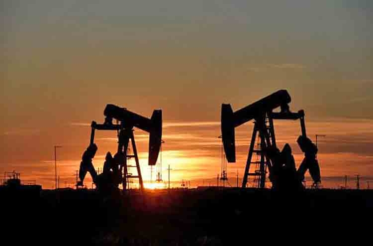 Oil prices rise for third session on Mideast tensions