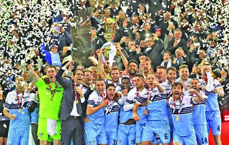 Lazio win Italian Cup title