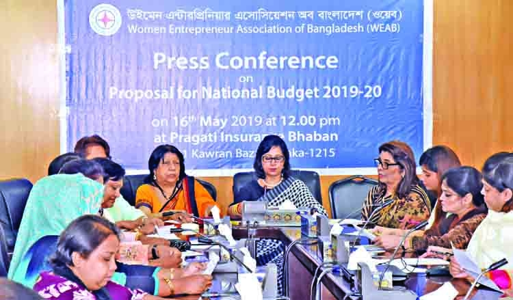 WEAB proposals for next budget