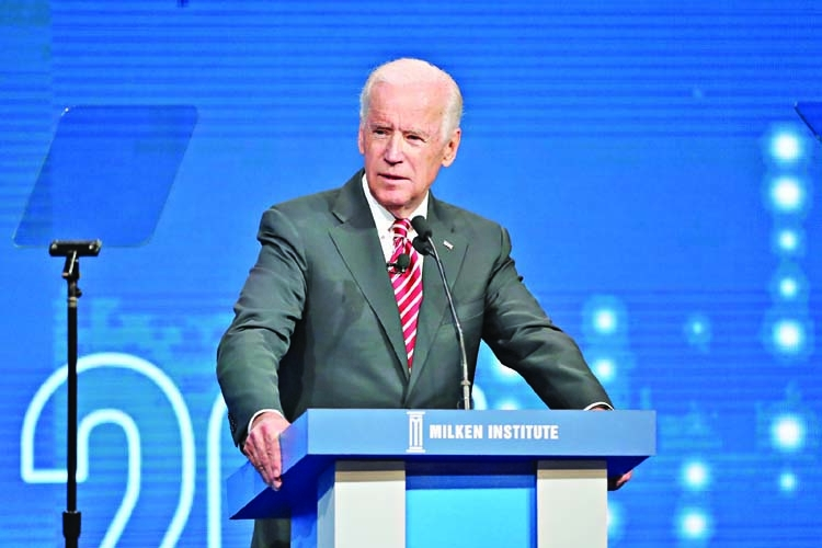 Biden in 2020 US presidential race