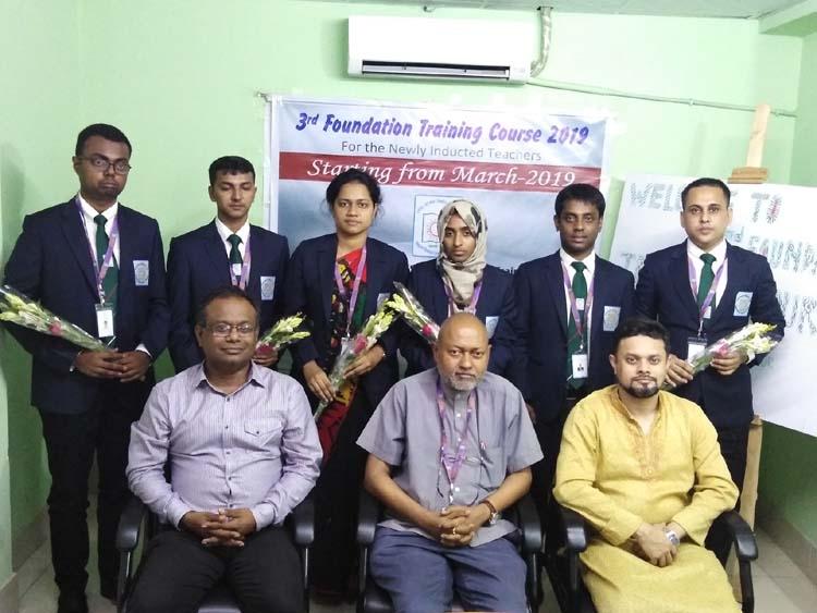 Teacher's training course held in BRUR