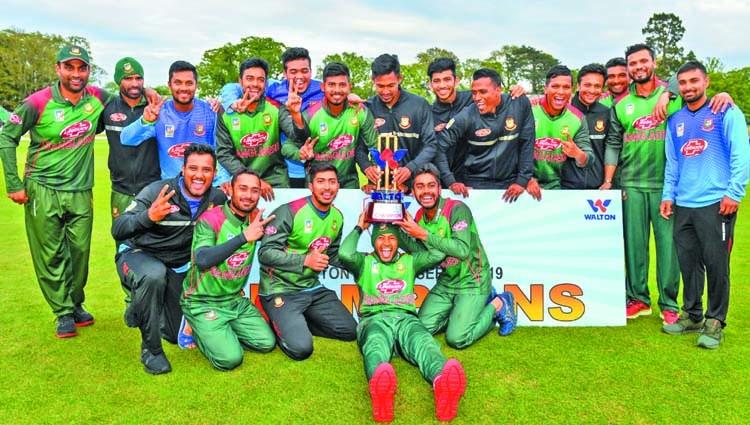 Bangladesh wins historic trophy