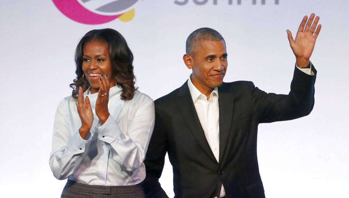 Obamas to produce exclusive podcasts for Spotify