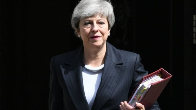 Theresa May officially steps down as Tory leader
