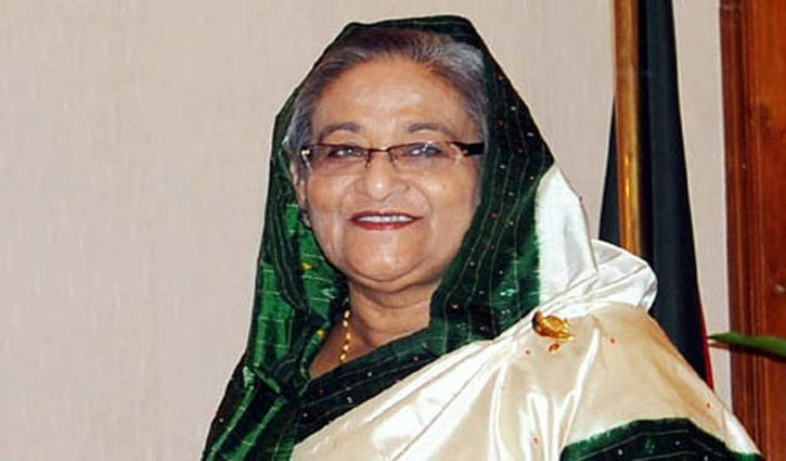 PM Sheikh Hasina returns home