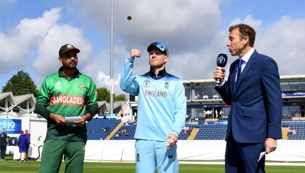 Bangladesh opt to bowl first against England