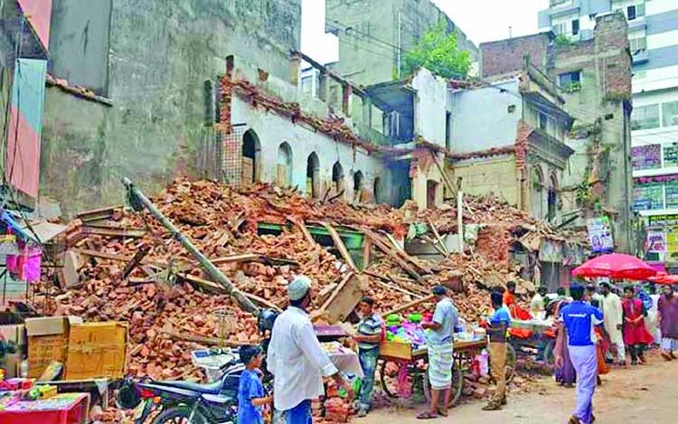 Old Dhaka's 'Jahaj Bari' demolition sparks anger