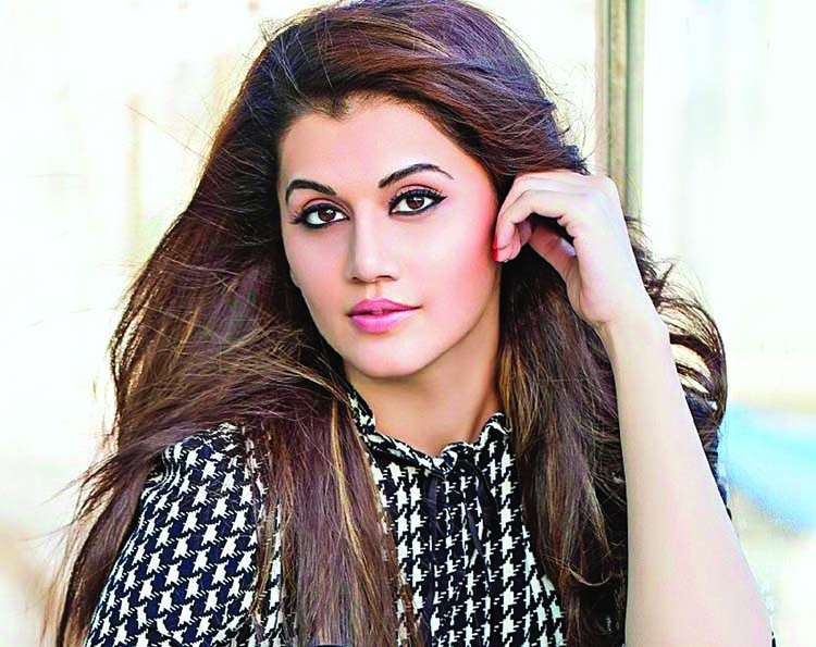Taapsee Pannu feels like a sandwich stuffing