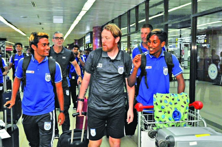 Booters return home with heads high