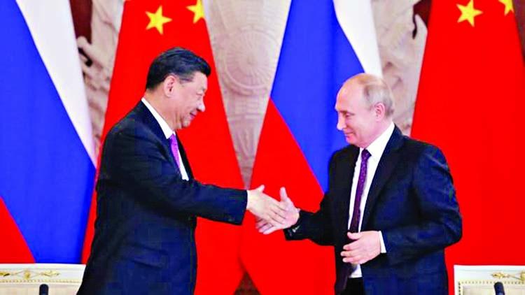 China's Xi praises 'best friend' Putin during Russia visit
