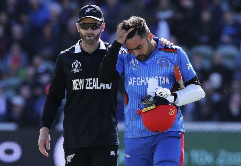 Afghans: Rashid is OK after head knock against New Zealand