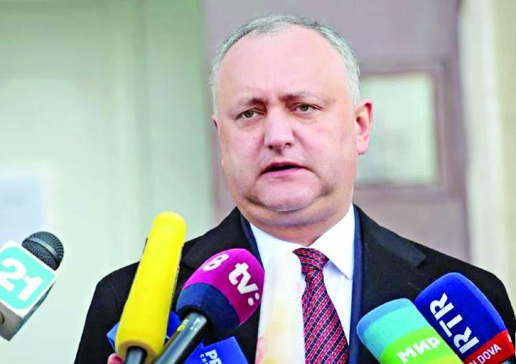 Moldova court relieves Dodon of duty as president