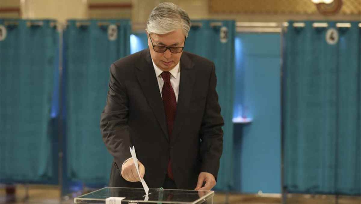 Tokayev wins Kazakhstan's presidential election, exit polls say
