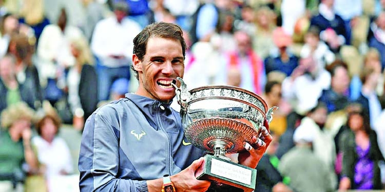 Nadal wins record-extending 12th Roland Garros title