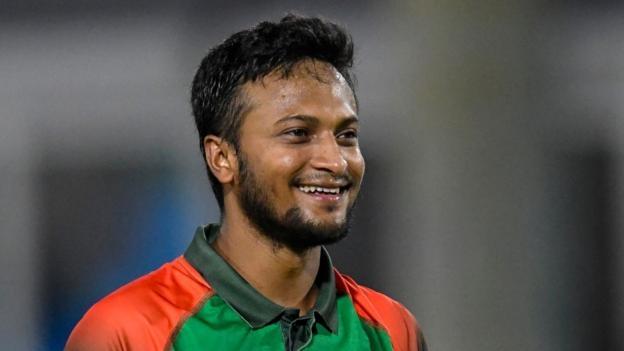 Injured Shakib doubtful for Sri Lanka clash