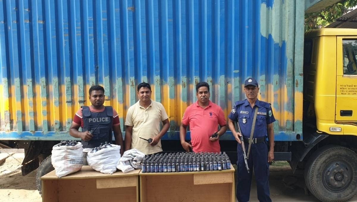 Heroin recovered, youth held with pistol in C'nawabganj