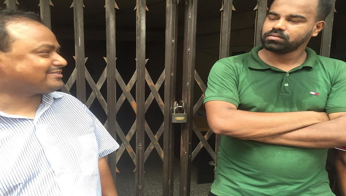 JCD activists lock BNP central office