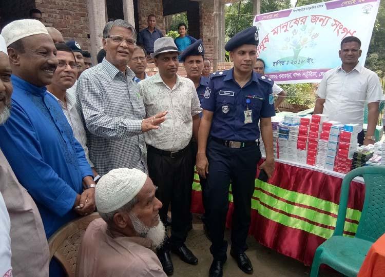 Free medical camp held at Saturia