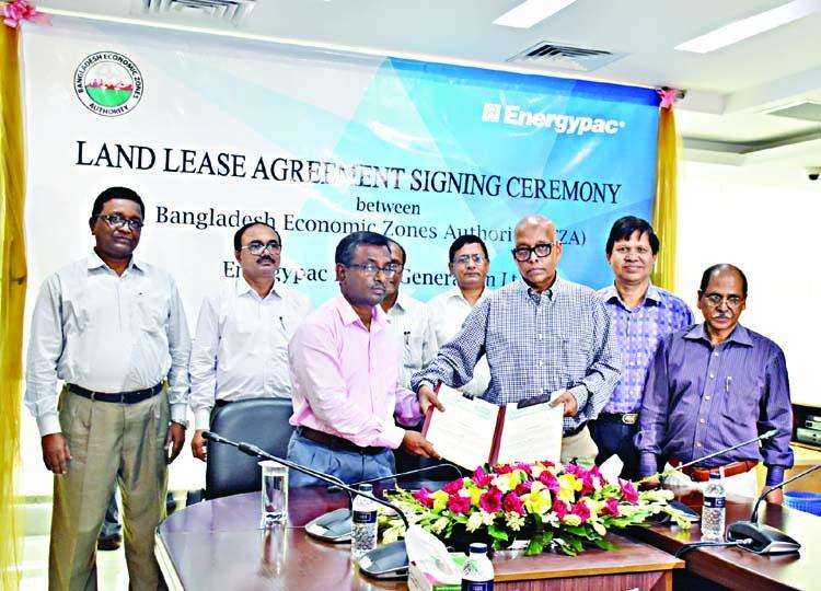 BEZA, EPGL sign land leasing agreement