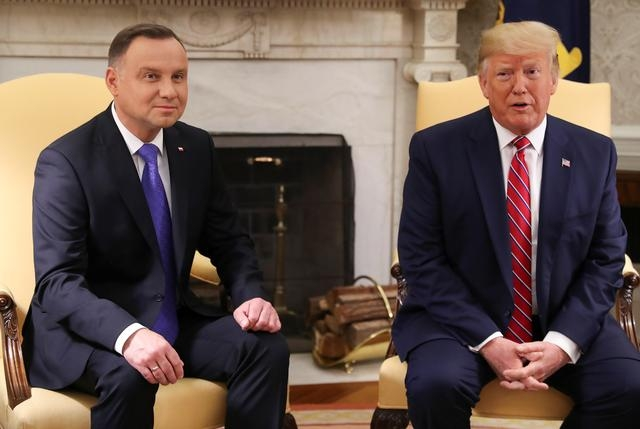 US will deploy 1,000 troops to Poland; Warsaw may call them 'Fort Trump'