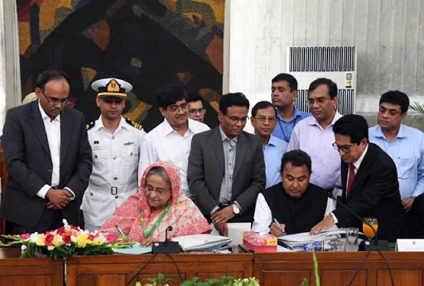 Bangladesh unveils Tk 5.23 trillion budget for FY20