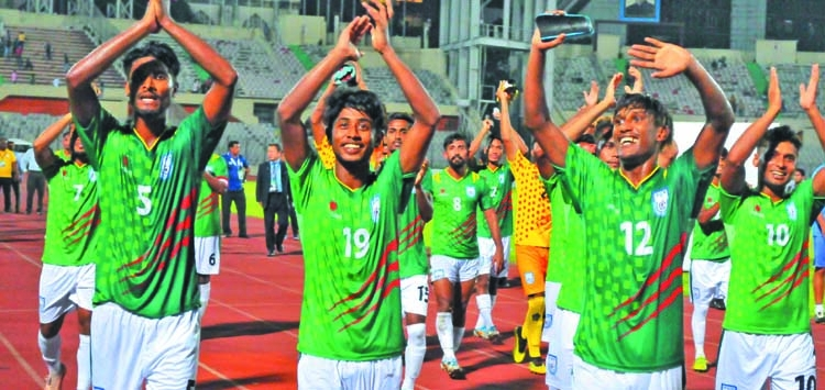 Hard work pays off for Bangladesh