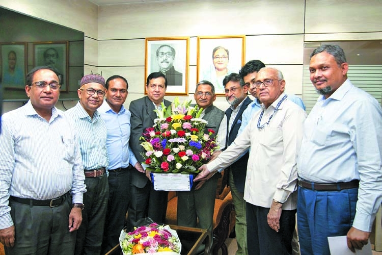 BUFT congratulates newly appointed UGC chairman