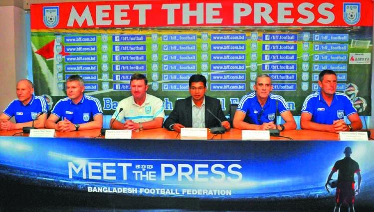 BFF hires three English coaches