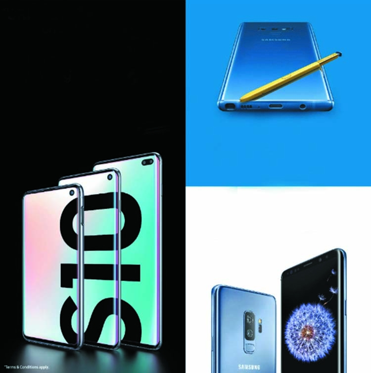 Samsung offers more in flagship devices