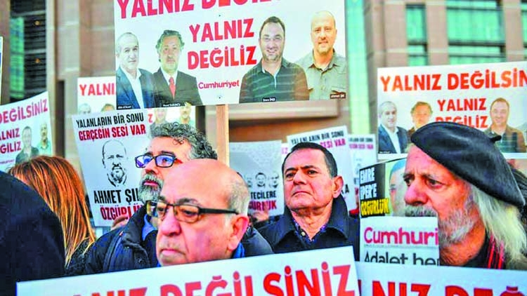 Turkey seeks jail terms for two Bloomberg reporters