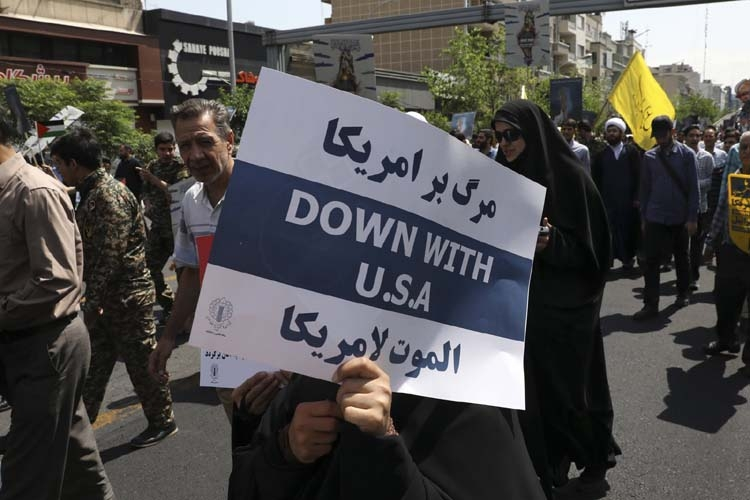 'Death to America' chants live on in Iran