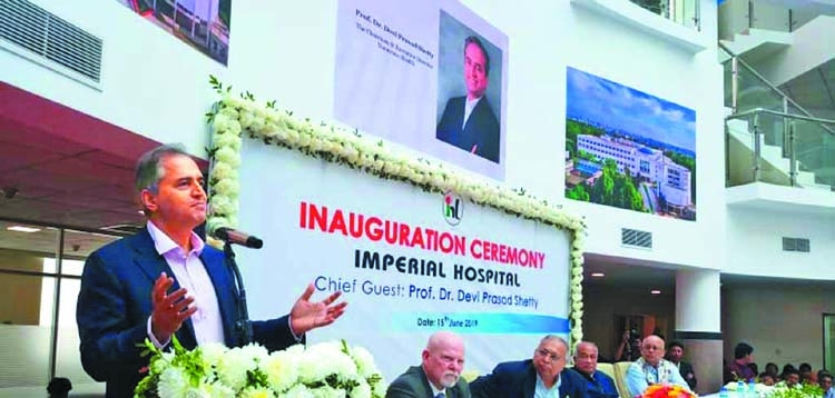 Devi Shetty launches 'Imperial Hospital' in Ctg