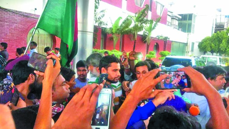Mashrafe Mortaza takes all responsibilities for failure