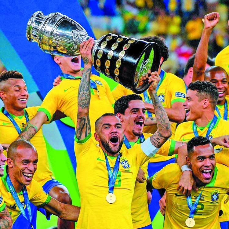 Brazil lift ninth Copa America title in style