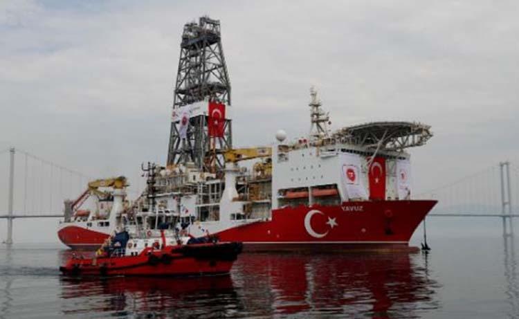 Second Turkish drillship arrives off coast of Cyprus shipping data