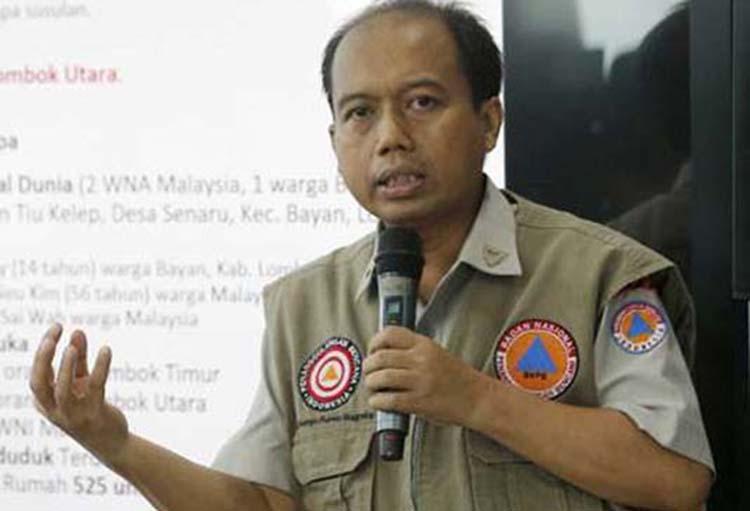 Indonesia's famed disaster spokesman dies of cancer