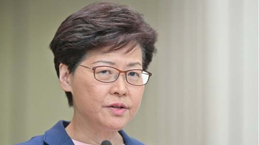 Hong Kong leader Lam says China extradition bill 'dead'