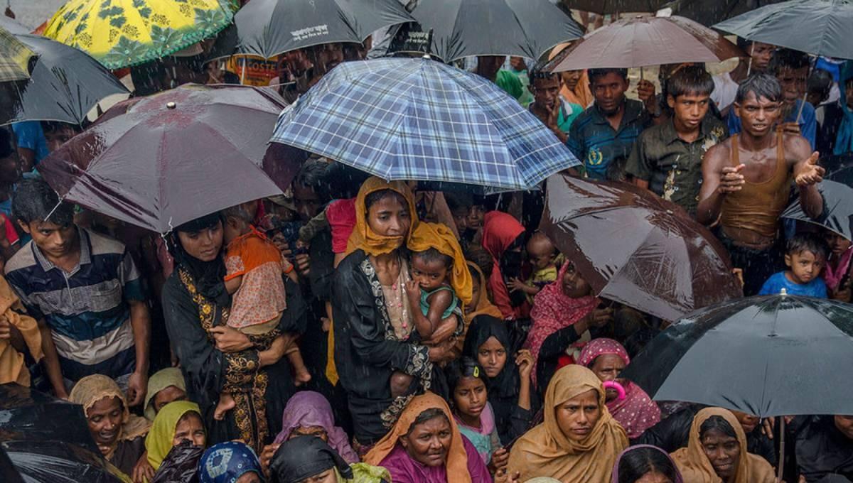 Rohingya children at risk of floods, landslides: Unicef