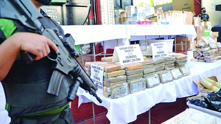Cocaine bricks keep washing up in Philippines