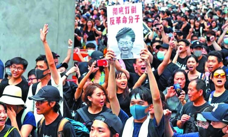 China extradition bill 'dead'