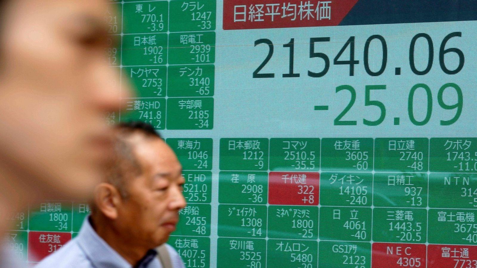 Asian markets mixed, pausing ahead of Fed chief testimony