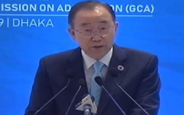 Ban Ki-moon praises Bangladesh for climate adaptation