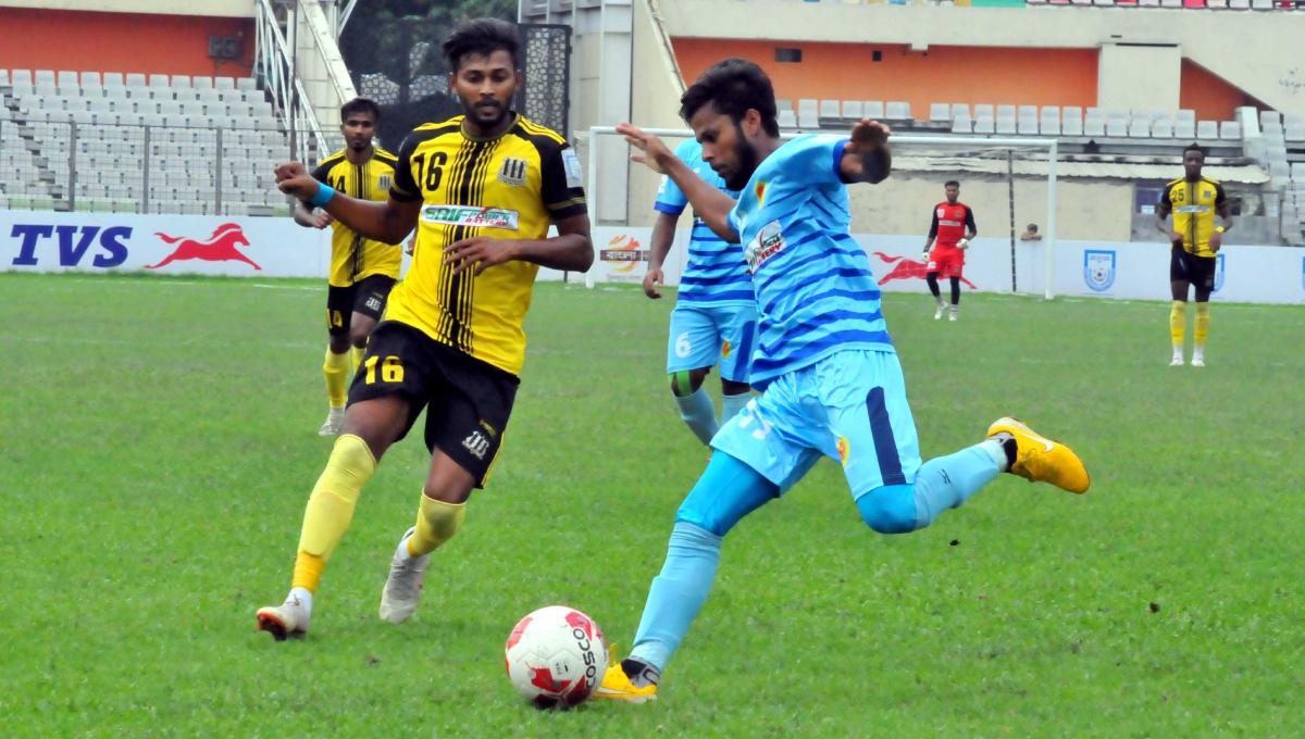 BPL Football: Saif SC play 1-1 draw with Chattogram Abahani