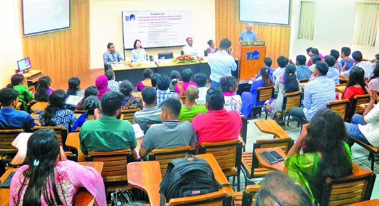 Seminar on reproductive health held at EWU