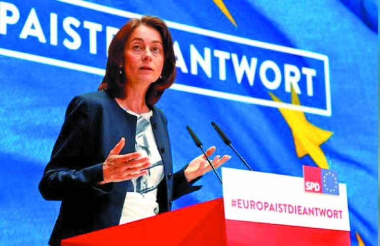 German coalition won't break over EU top job